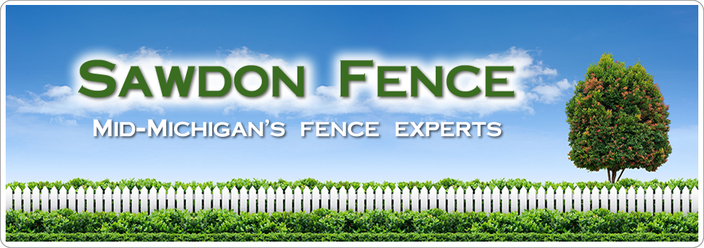 Sawdon Fence of Williamston Michigan Servin Mid Michigan