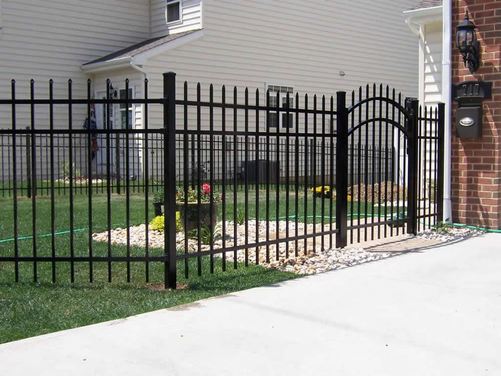 Image result for Metal fence Gates