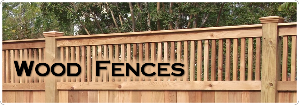 Wood Fences at Sawdon Fence Company Lansing Serving Mid Michigan